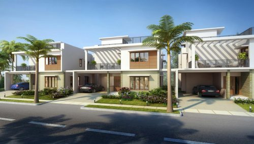 Adarsh Palm Acres - Yelahanka - villas - bangalore