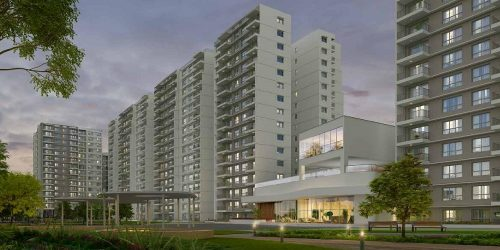 Godrej Aqua -Off Airport Main Road- Yelahanka - apartments